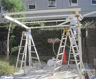 共用部分の修繕や特殊な工事も行える高い技術力