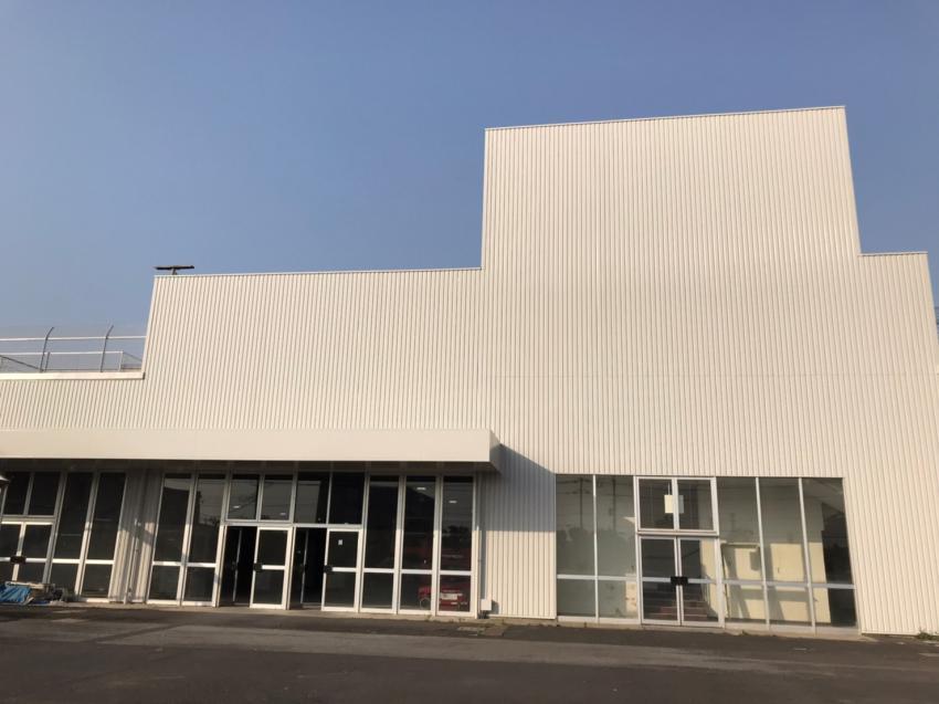 千葉市美浜区新港 旧ケーヨーD2 外壁塗装・折半屋根塗装工事