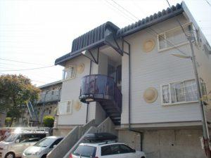 千葉市稲毛区小仲台 ルレーブ様 外壁塗装・折半屋根塗装工事 施工後